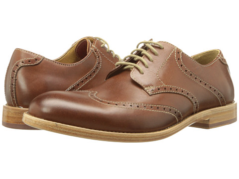 Trask - Hudson (Saddle Tan Steer) Men's Shoes