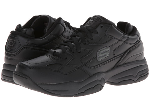 SKECHERS Work - Marathon (Black) Women's Industrial Shoes