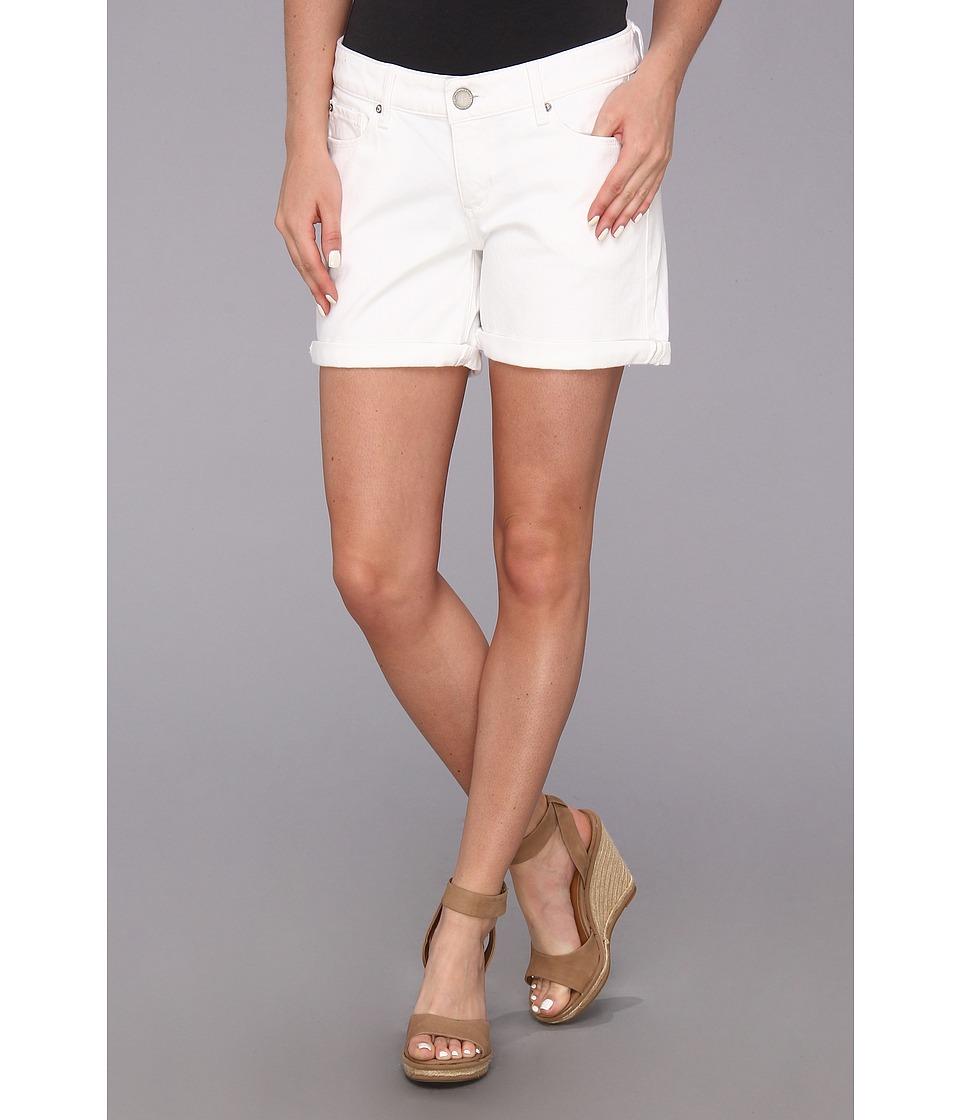 DL1961 - Karlie Roll-Up Short in Dark White (Milk) Women's Shorts