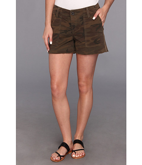 Lucky Brand - Camo Short (Brown Multi) Women