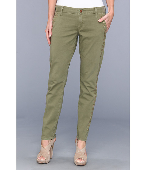 Lucky Brand - Sienna Chino (Field Green) Women's Casual Pants