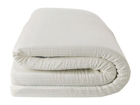 Soft-Tex - Luxury Supreme Memory Foam Bed Topper-Twin XL (White) Sheets Bedding
