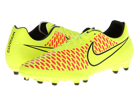 Nike - Magista Onda FG (Volt/Black/Hyper Punch/Volt) Men's Soccer Shoes