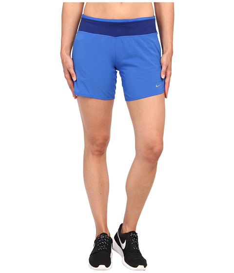 Nike - Six-Inch SW Rival Short (Hyper Cobalt/Deep Royal Blue/Reflective Silver) Women