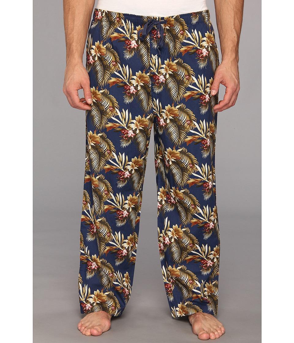 Tommy Bahama Big Tall Lounge Pant Maui Tropical Mens Pajama (Blue)