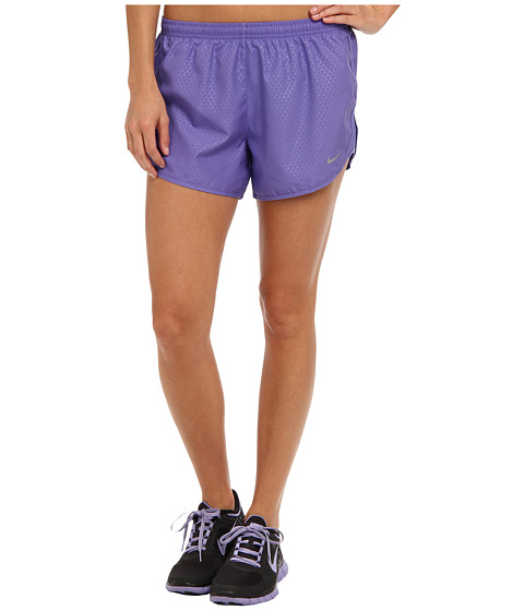 Nike - Mod Tempo Emboss Run Short (Purple Haze/Purple Haze/Reflective Silver) Women's Shorts