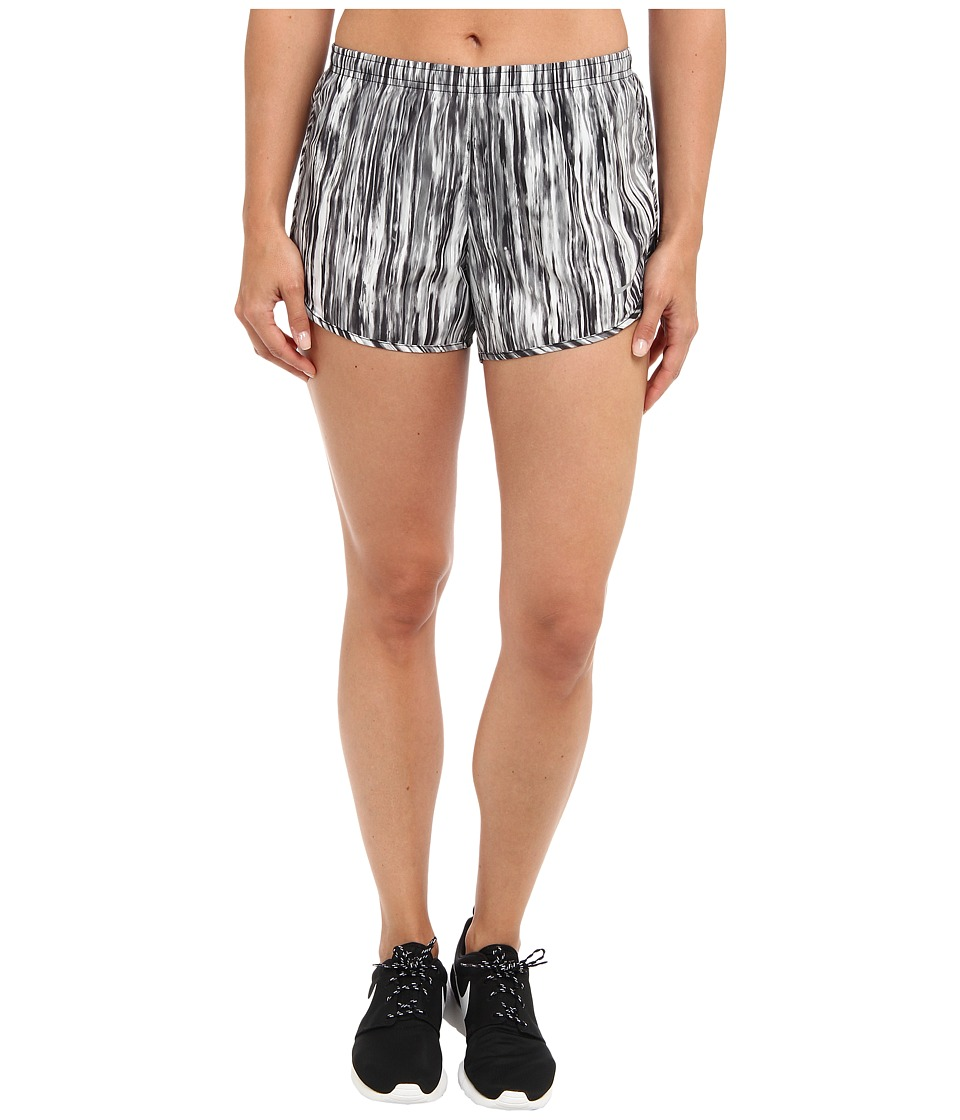 Nike - Printed Modern Tempo Short (Black/Black/Reflective Silver) Women's Shorts