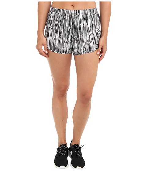Nike - Printed Modern Tempo Short (Black/Black/Reflective Silver) Women