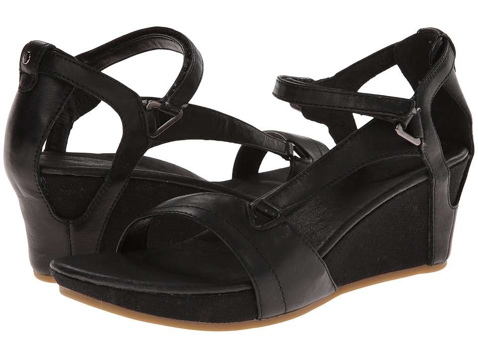 Teva - Capri Wedge (Black) Women's Wedge Shoes