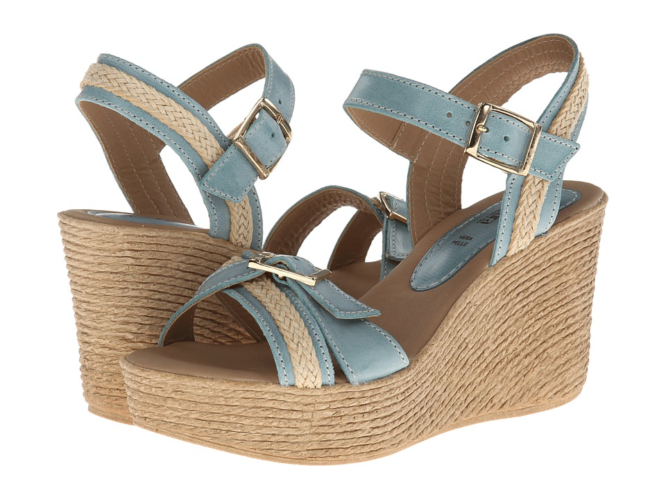 Spring Step - Frappe (Blue) Women's Dress Sandals