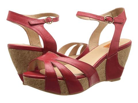 Miz Mooz Yancy (Red) Women's Shoes
