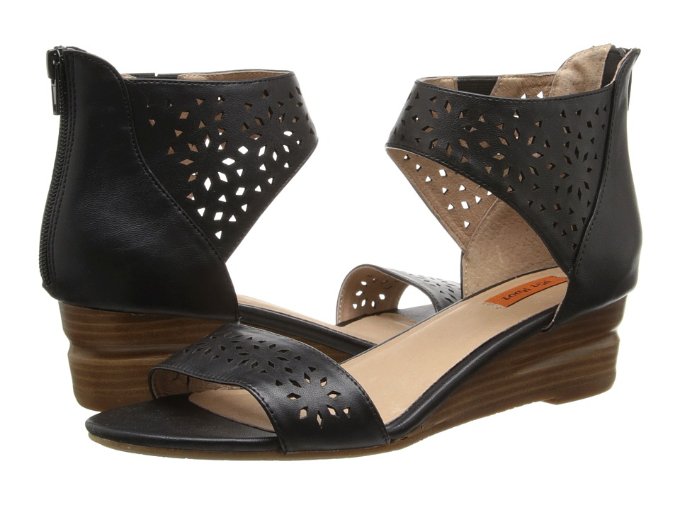 Miz Mooz - Pasadena (Black) Women's Sandals
