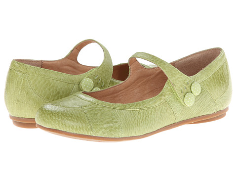 Miz Mooz - Dotty (Lime) Women's Maryjane Shoes