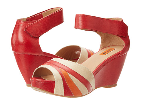 Miz Mooz Yacht (Red) Women's Wedge Shoes