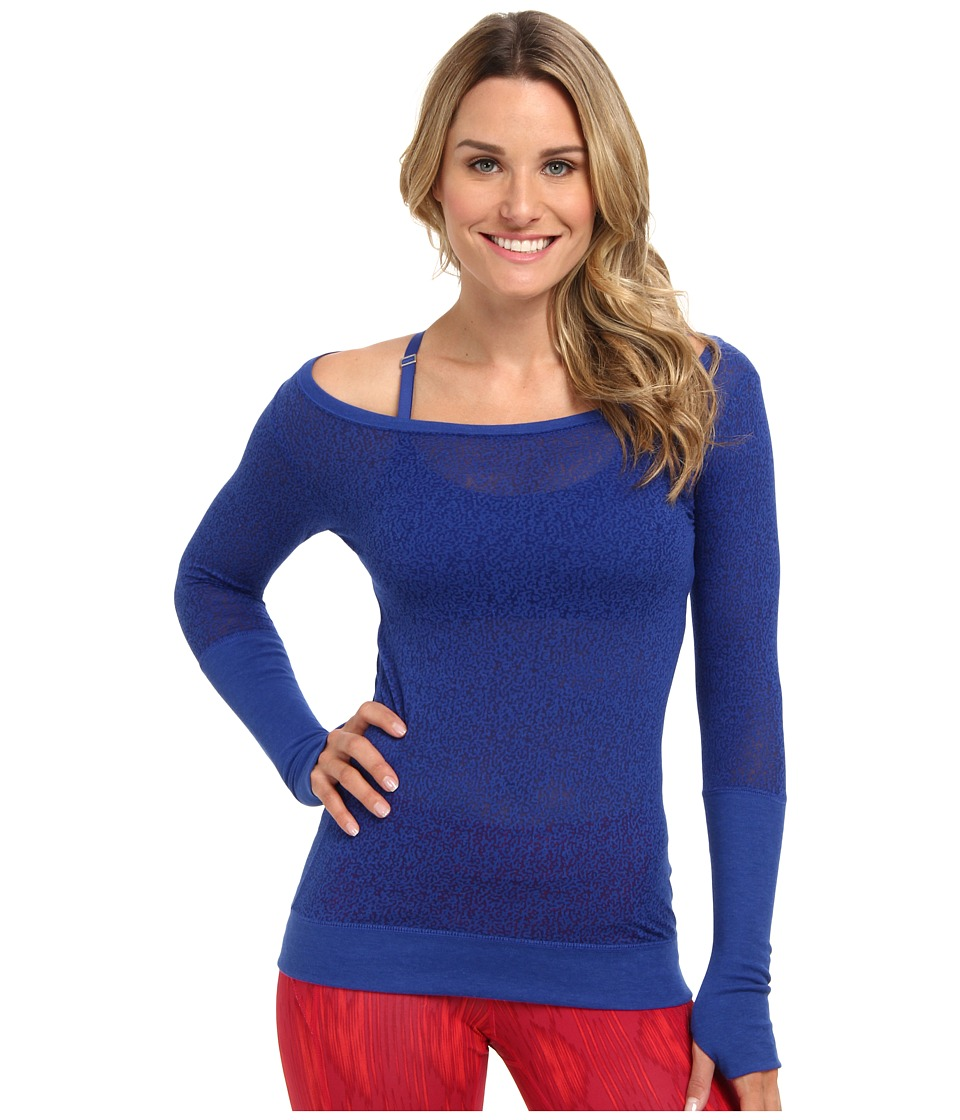 Nike - Signal L/S Tee - Mezzo (Game Royal/Deep Royal Blue) Women's Long Sleeve Pullover