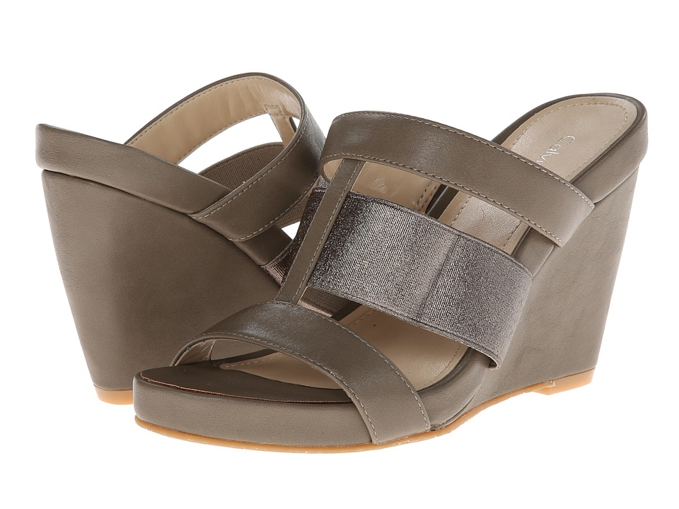 Calvin Klein - Dunley (Olive/Pewter) Women's Shoes