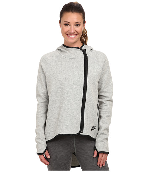 Nike - Tech Cape (Dark Grey Heather/Black) Women's Jacket