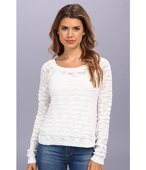 BB Dakota - Missy Top (Dirty White) Women's Long Sleeve Pullover