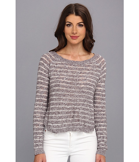 BB Dakota - Missy Top (Grey) Women's Long Sleeve Pullover