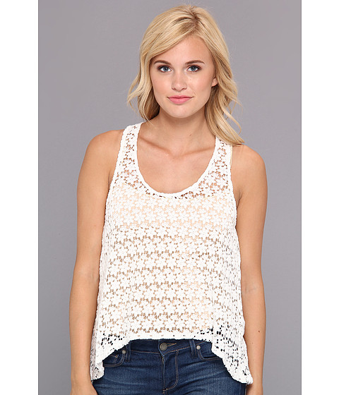 BB Dakota - Aline Top (Ivory) Women's Sleeveless