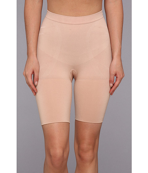 Spanx - Slim Cognito Mid-Thigh (New Slimproved!) (Rose Gold) Women's Underwear