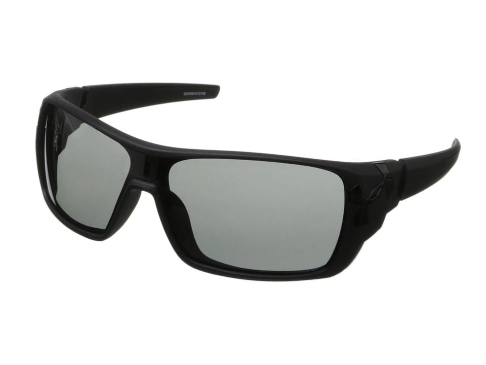 Under Armour - UA Trick (Satin Black Frame/Gray Lens) Sport Sunglasses