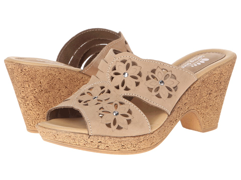 Spring Step - Magnetism (Beige Nubuck) Women's Shoes