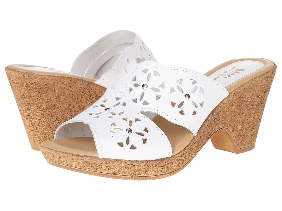 Spring Step - Magnetism (White Leather) Women's Shoes