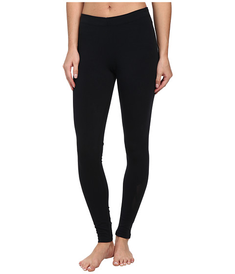 Nike - Leg-A-See Logo (Black/Black) Women's Casual Pants
