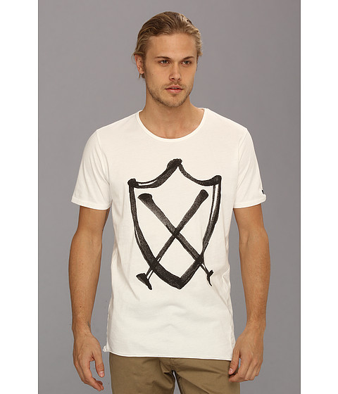 Zanerobe - ZR Graff Tee (White) Men's Short Sleeve Pullover