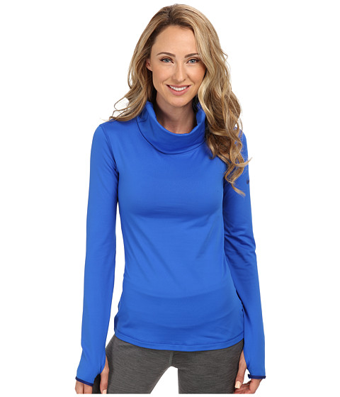 Nike - Pro Hyperwarm Infinity (Hyper Cobalt/Deep Royal Blue/Deep Royal Blue) Women's Long Sleeve Pullover