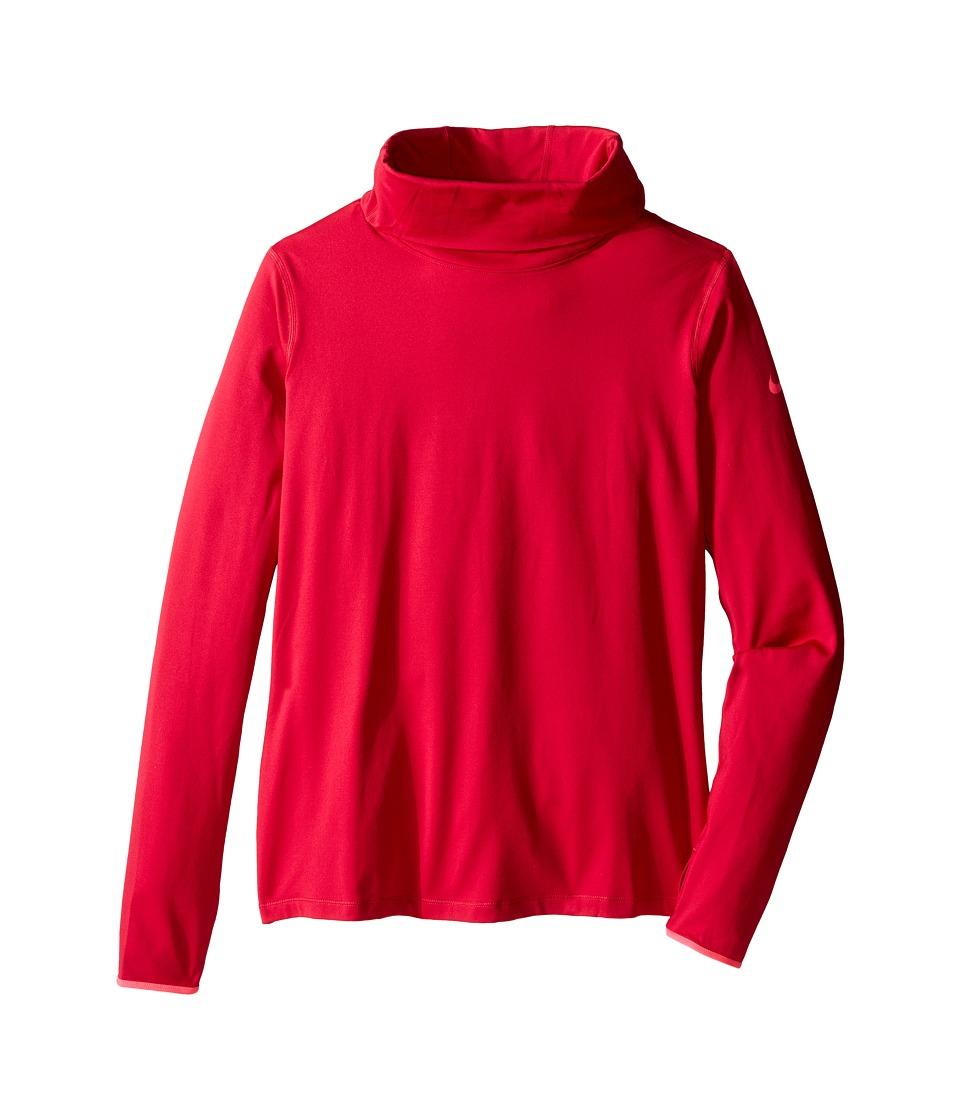 Nike - Pro Hyperwarm Infinity (Fuchsia Force/Hyper Pink/Hyper Pink) Women's Long Sleeve Pullover
