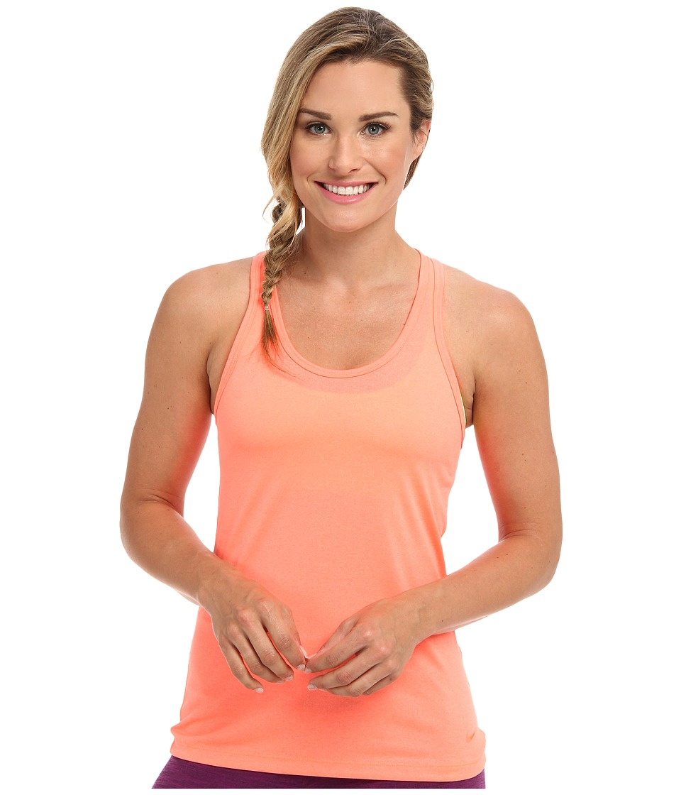 Nike - Legend Tank (Bright Mango/Bright Mango) Women's Sleeveless
