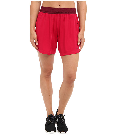 Nike - Seven-Inch Fly Knit Short (Fuchsia Force/Deep Garnet/Deep Garnet) Women