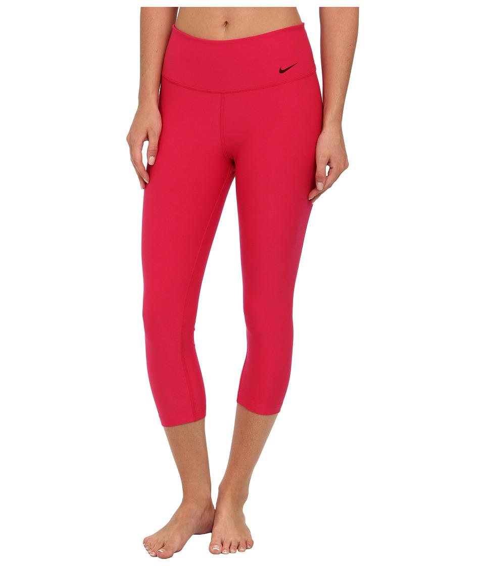 Nike - Legend 2.0 Tight Poly Capri (Fuchsia Force/Hyper Pink/Black) Women