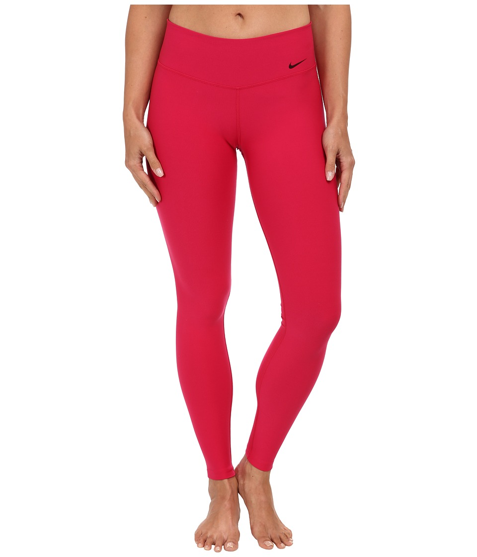 Nike - Legend 2.0 Tight Poly Pant (Fuchsia Force/Hyper Pink/Black) Women's Workout