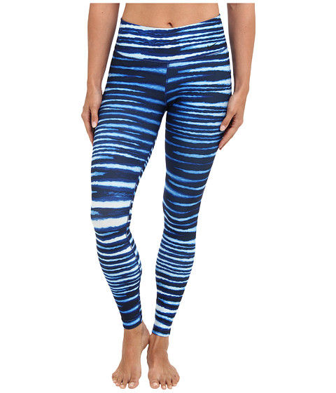 Nike - Legend 2.0 Tight Tiger Pant (Deep Royal Blue/Obsidian/Black) Women's Workout