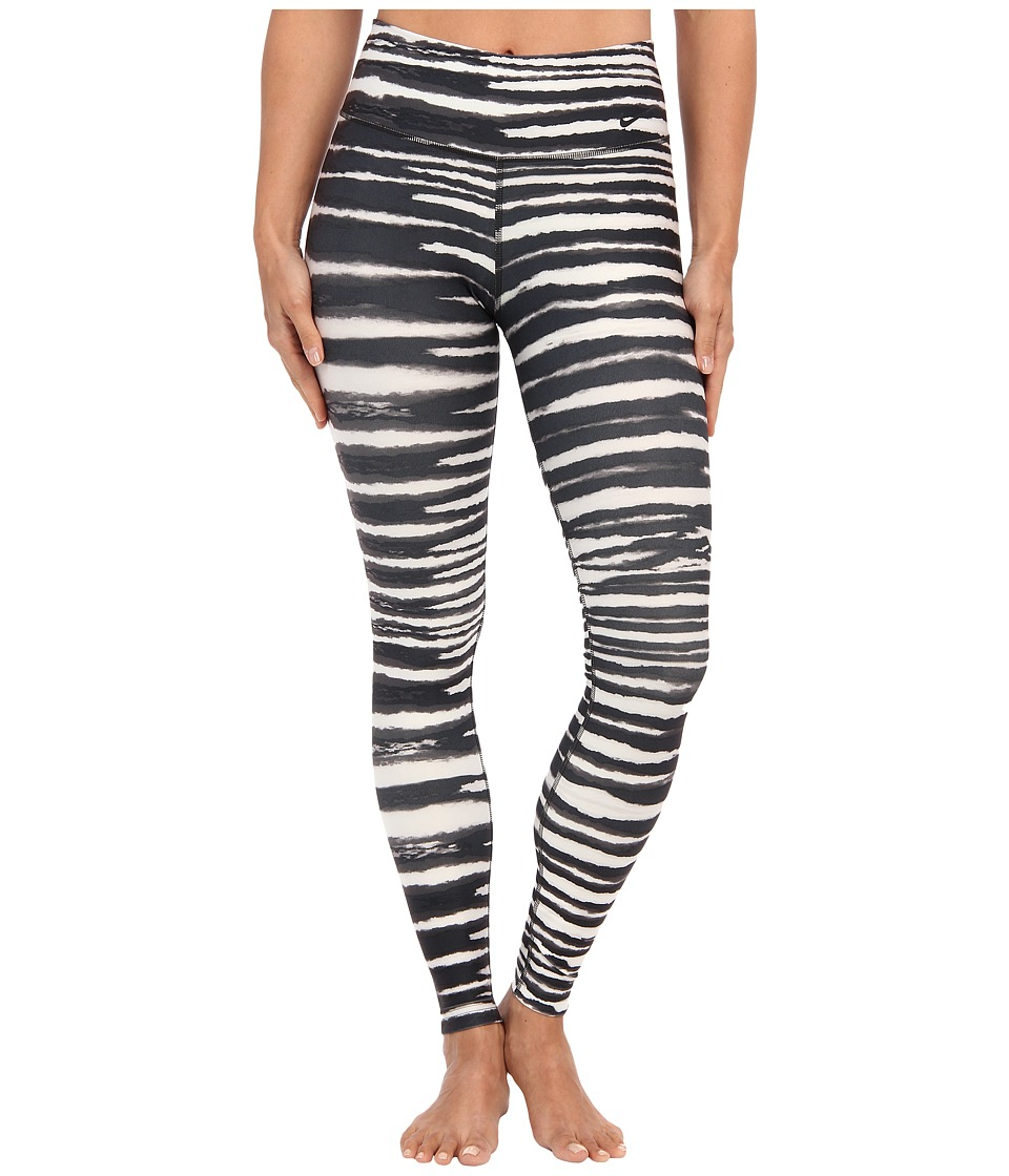 Nike - Legend 2.0 Tight Tiger Pant (Dark Ash/Ivory/Black) Women's Workout