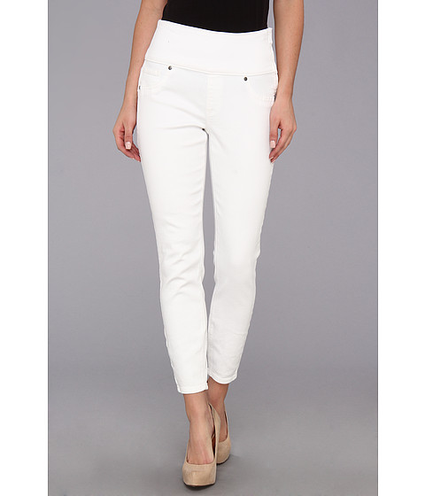 Spanx - Denim Legging Crop (White) Women