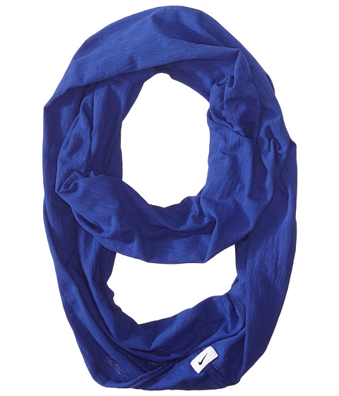 Nike - Infinity Stripe Scarf FA14 (Deep Royal Heather/Deep Royal Blue) Scarves
