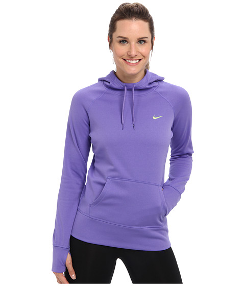 Nike - All Time Hoody FA14 (Purple Haze/Volt) Women's Sweatshirt