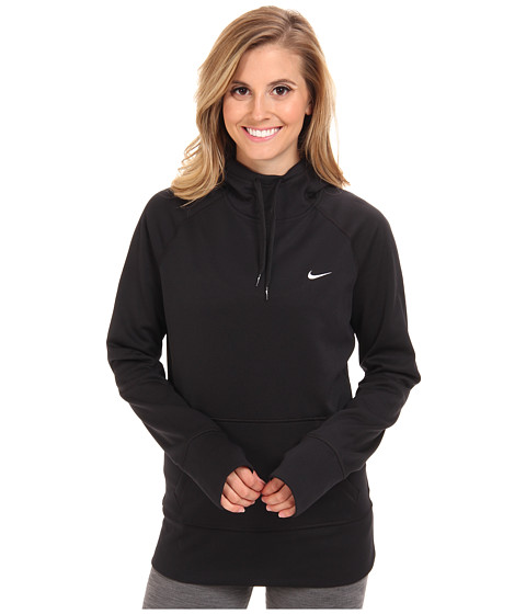 Nike - All Time Hoody FA14 (Black/White) Women's Sweatshirt
