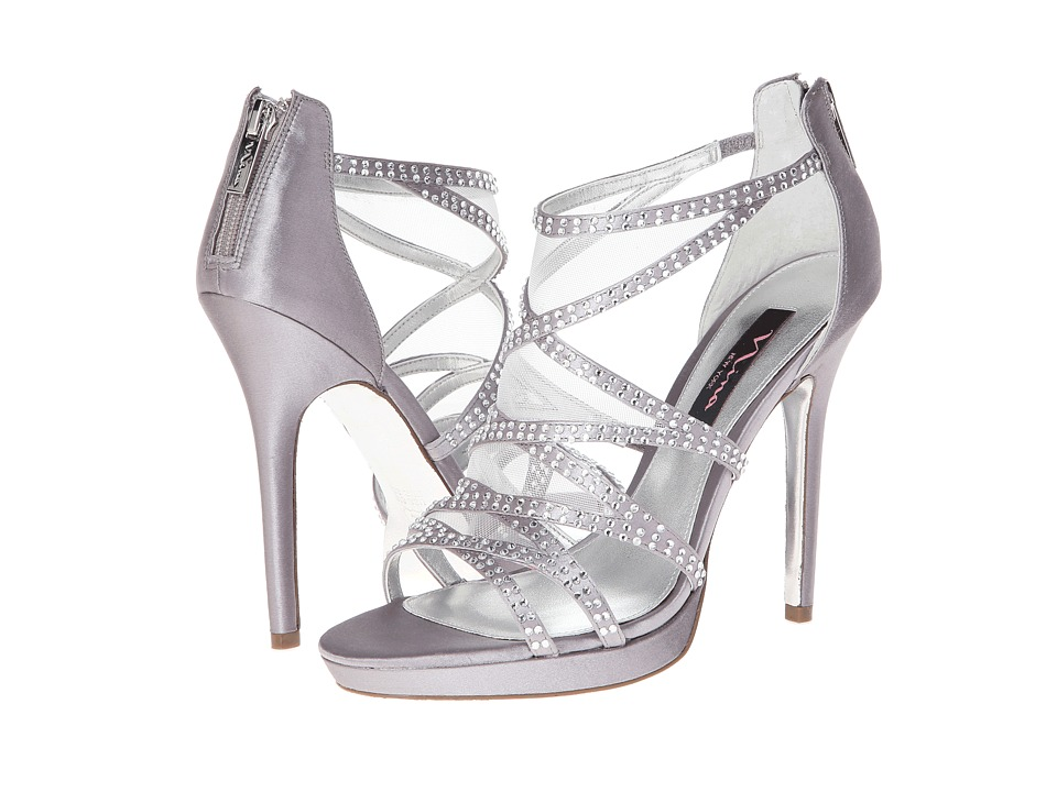 Nina - Belinda (Royal Silver) High Heels