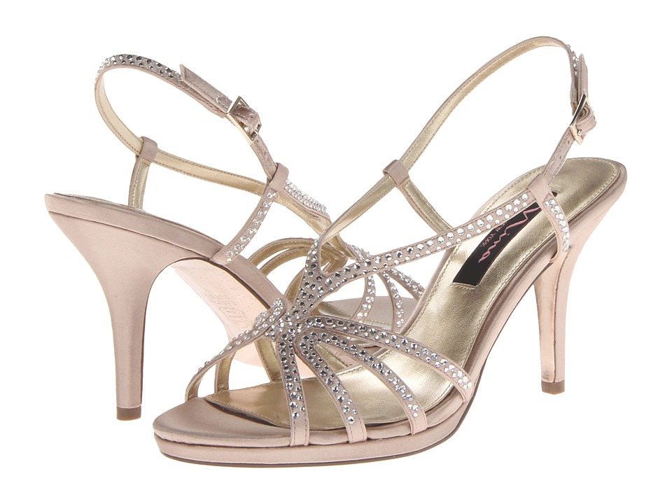 Nina - Bobbie (Champagne) Women's Dress Sandals