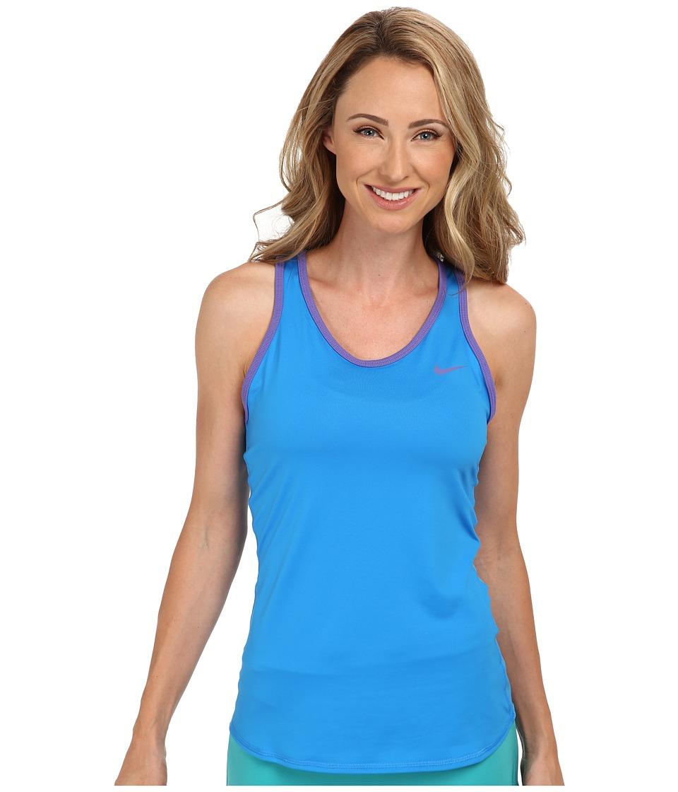 Nike - Advantage Court Tank (Photo Blue/Purple Haze/Purple Haze) Women's Workout