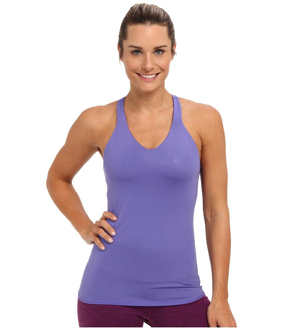Nike - Advantage Solid Tank Top (Purple Haze/Purple Haze) Women's Sleeveless