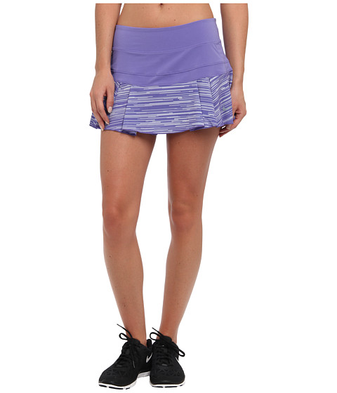 Nike - Printed Pleated Skort (Purple Haze/Light Magnet Grey/Magnet Grey) Women's Skort