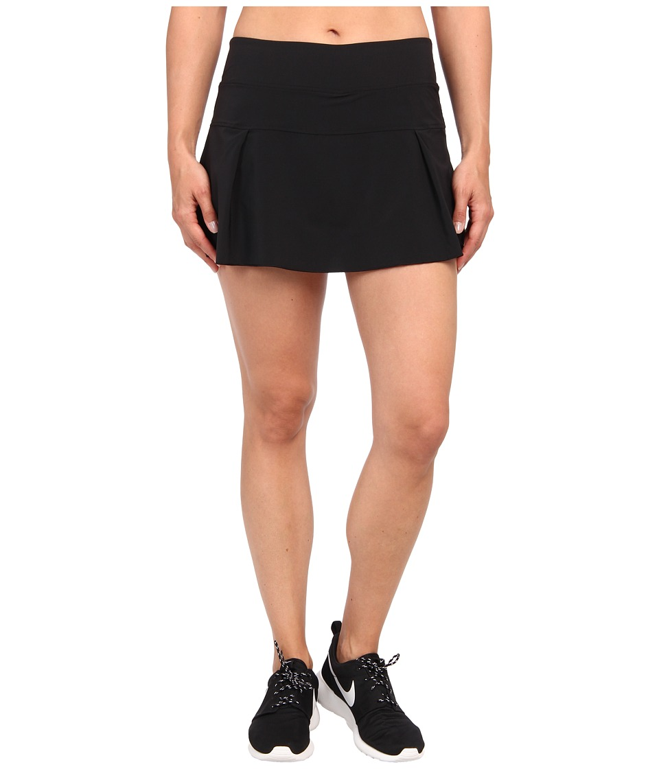 Nike - Victory Court Skirt (Black/White) Women's Skort