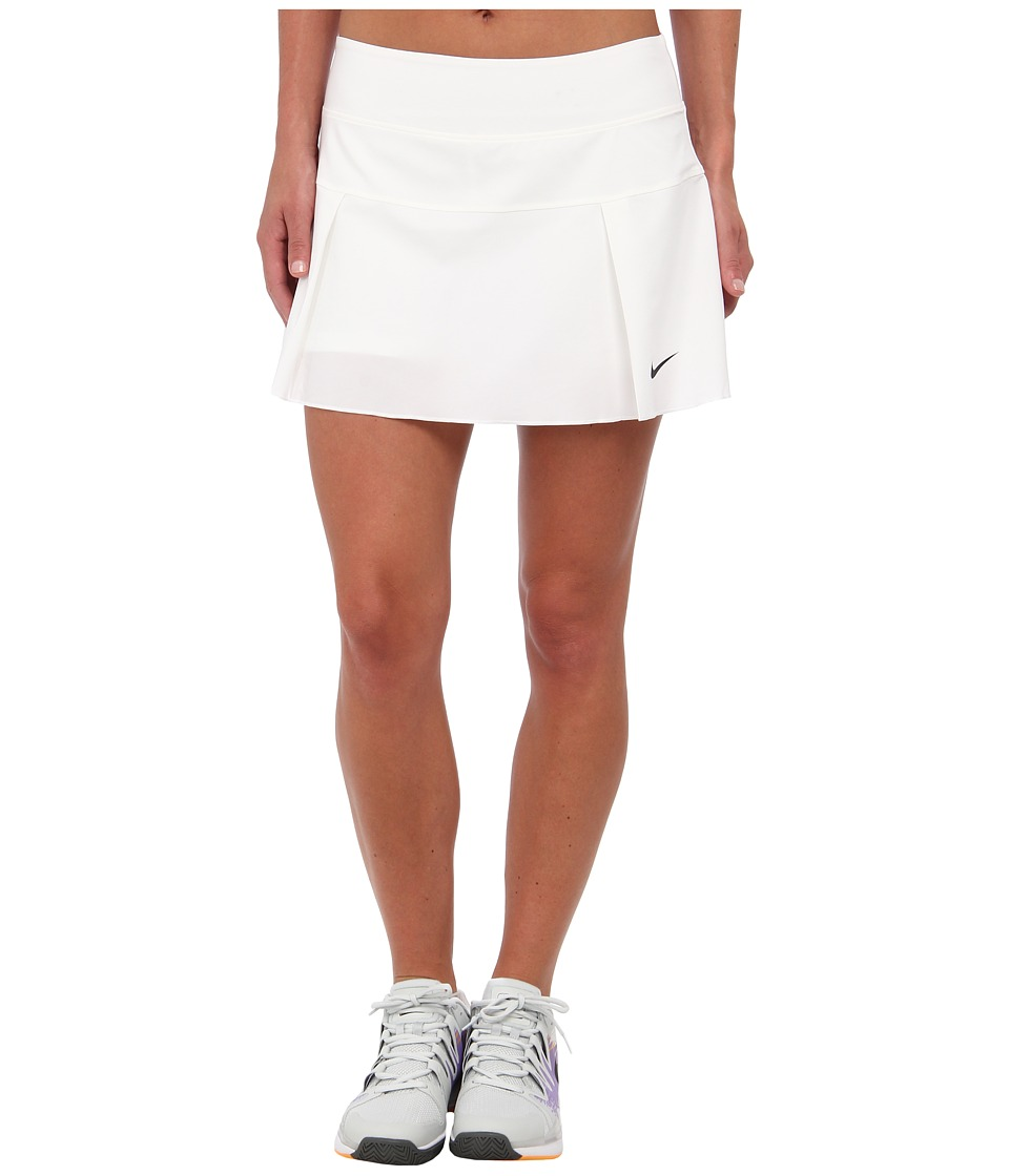 Nike - Victory Court Skirt (White/Black) Women's Skort