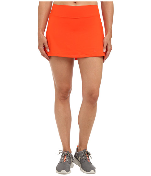 Nike - Straight Knit Skort (Team Orange/Team Orange) Women